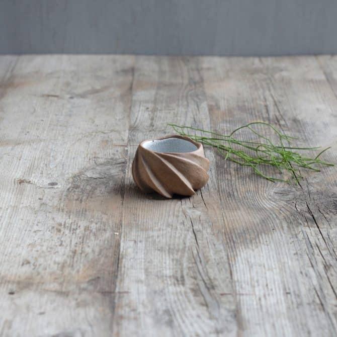 LOTUS BOWL. clay & wood studio