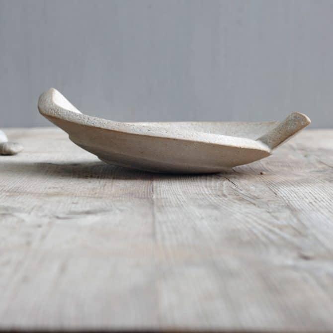 YIN YANG SPIRAL BOWL. clay & wood studio