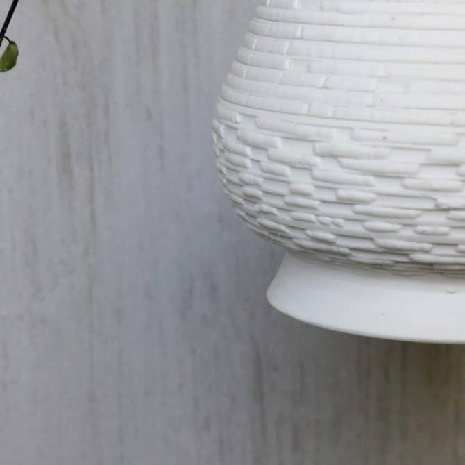 bamboo lighting. clay & wood studio