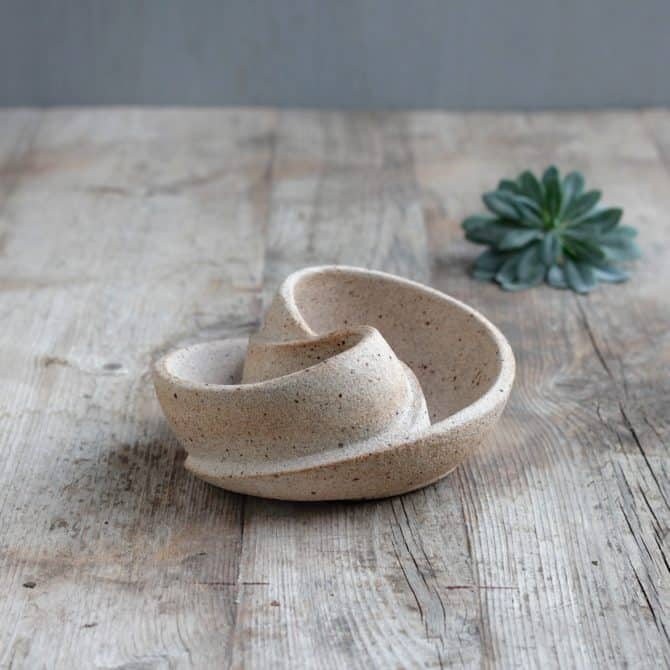 ZEN BOWL. clay & wood studio