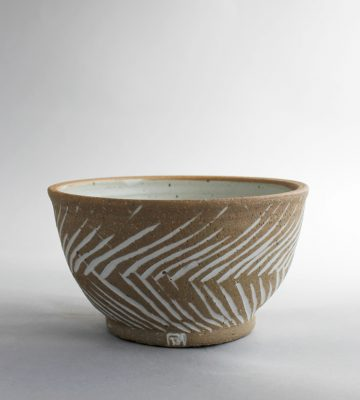 Soup Bowl. clay and wood studio