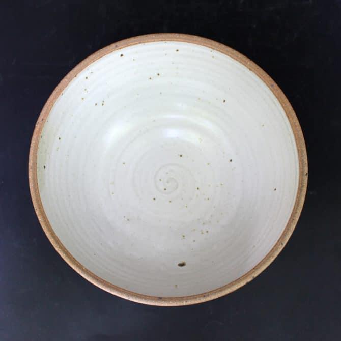 Decorative Bowl. clay and wood studio