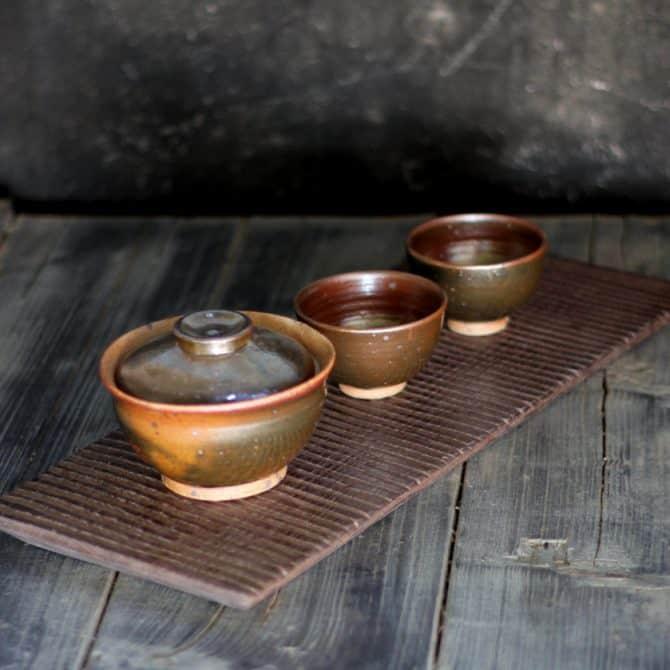 Japanese green tea gifts clay&wood studio