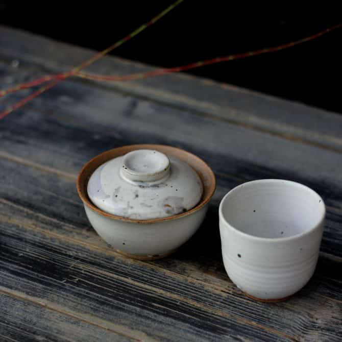 green tea gifts clay&wood studio
