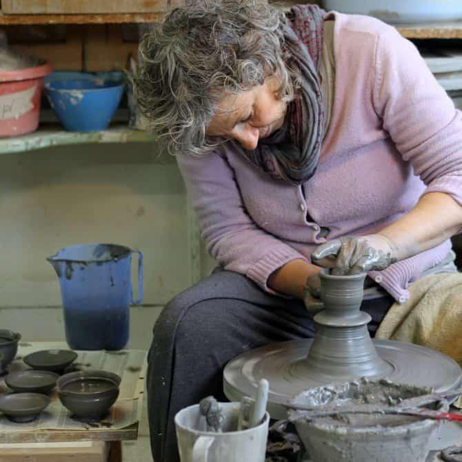 tea cup set. clay & wood studio