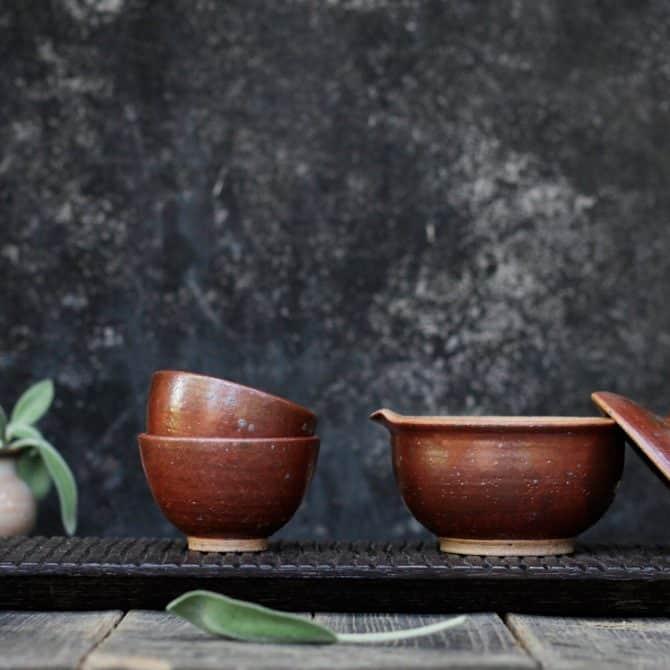 Japanese Tea Ceremony Set gaiwan teapot