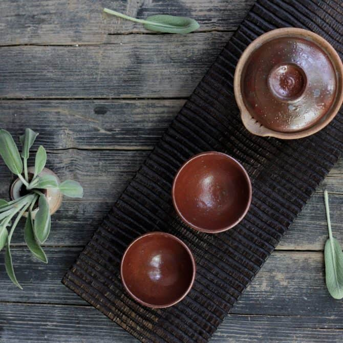 Japanese Tea Ceremony Set shb93a gaiwan teapot